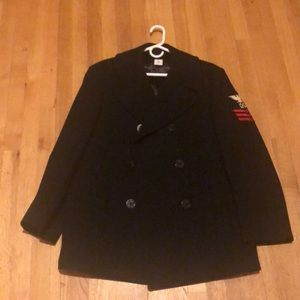 Other - Vintage Navy Peacoat